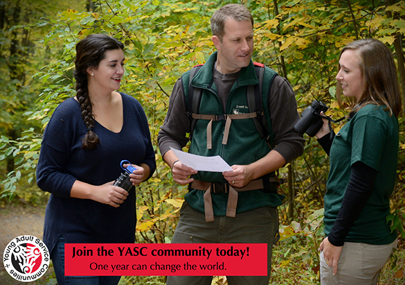 Young Adult Service Community program